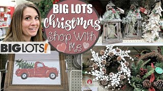BIG LOTS CHRISTMAS 2018 :: BIG LOTS SHOP WITH ME FOR CHRISTMAS DECORATIONS :: This Crazy Life