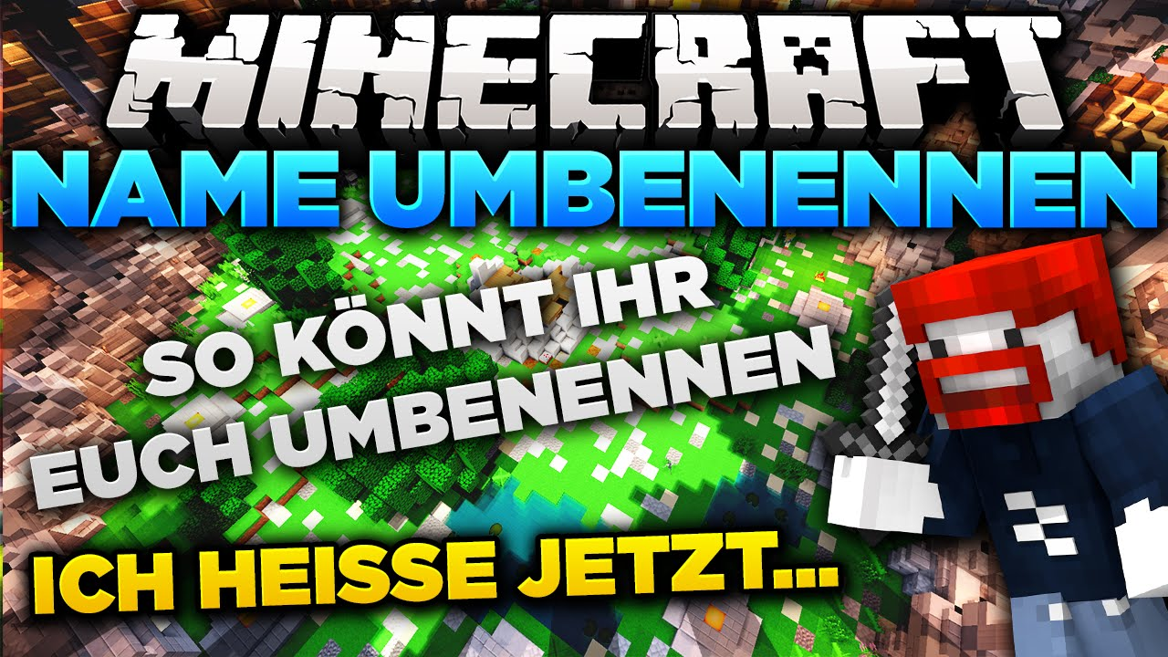 MINECRAFT NAME ÄNDERN KEIN DOCTORBENX MEHR DoctorBenx YouTube - Minecraft namen andern 1 12