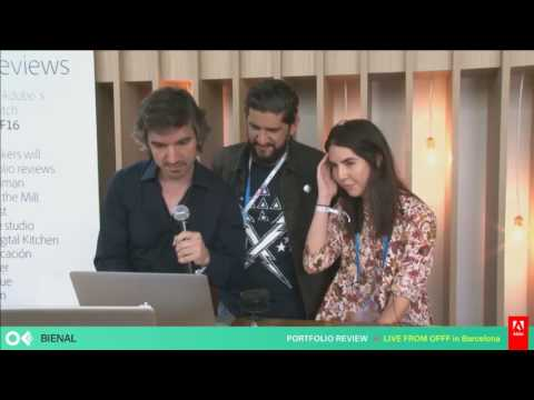 Adobe At OFFF 2016 | Adobe Portfolio Reviews With Bienal Communicacion  | Adobe Creative Cloud