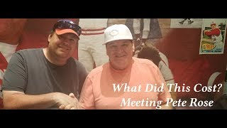 What it Costs to Meet Exiled Baseball Legend Pete Rose