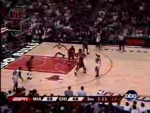 Chicago Bulls Tyrus Thomas - Game 1 Round 1 vs. Heat