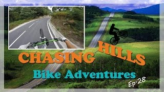 Chasing Hills - Wheelie Manuals Ep.28 - Aggressive countryside Hill (One take)