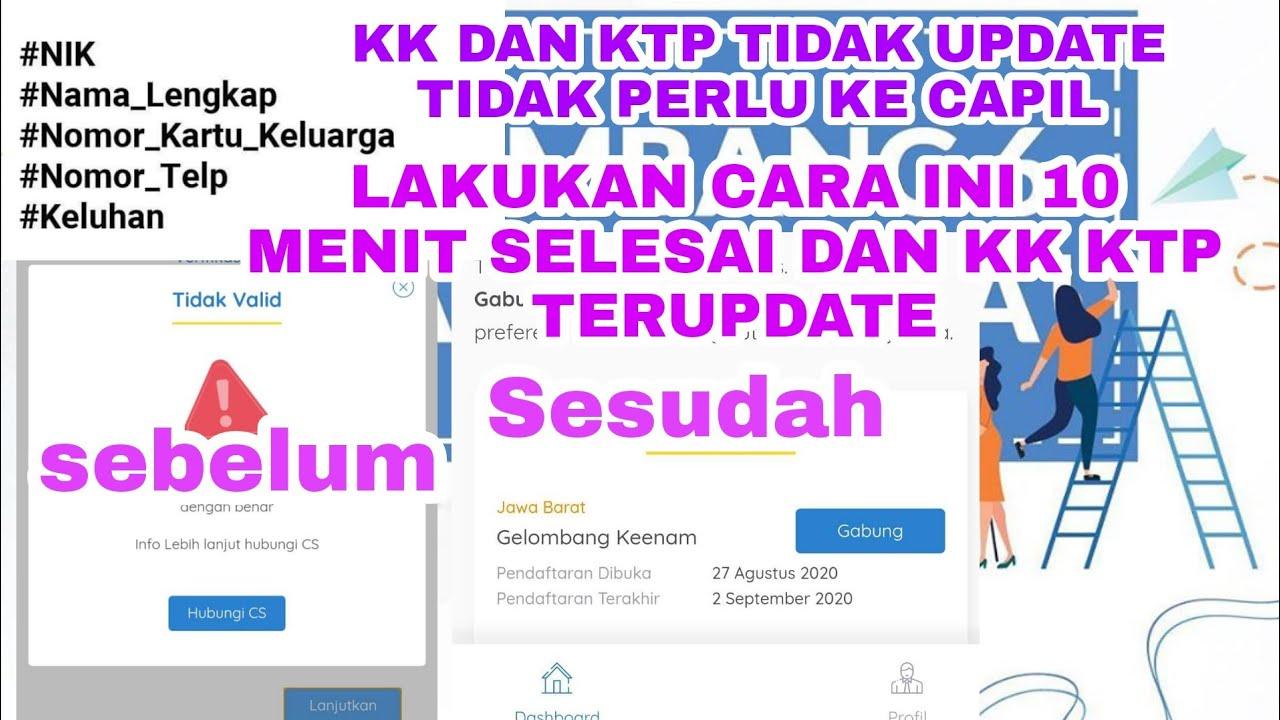 Cara Update Kk Lewat Online Guru Paud