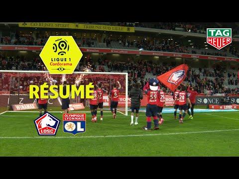 LOSC - Olympique Lyonnais ( 1-0 ) - Résumé - (LOSC - OL) / 2019-20