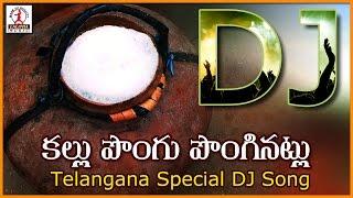 Kallu Pongu Ponginatlu Telangana DJ Folk Song   Telugu Private Songs   Lalitha Audios And Videos