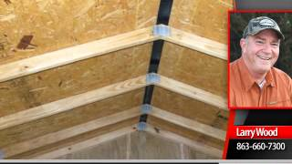 shed4less 12x32 lofted barn garage