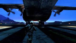 NEW Uncharted 3 Cargo Plane gameplay (HD)