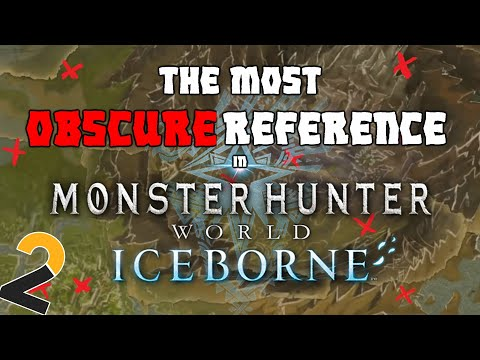 The Most OBSCURE reference in Monster Hunter World Iceborne |