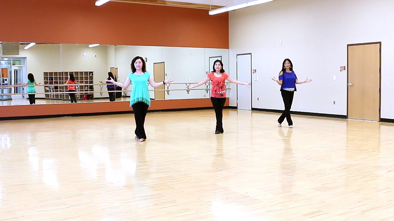 No stress line dance dance teach