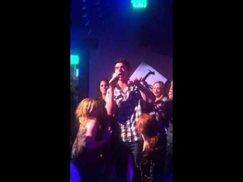 "BMAC ""Get Low"" acoustic version Karaoke Miami 2013"