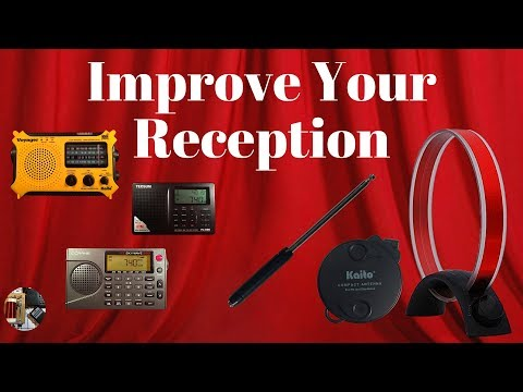 How to Improve your radio's AM FM & SW Reception