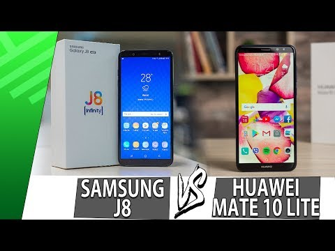 Samsung J8 VS Huawei Mate 10 Lite | Enfrentamiento | Review | Unboxing
