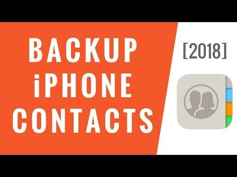 How to Backup Contacts on iPhone 6/6s/7/8/X/XR/11 Hi Everyone! iCareFone: https://goo.gl/b8yxGV iCar.