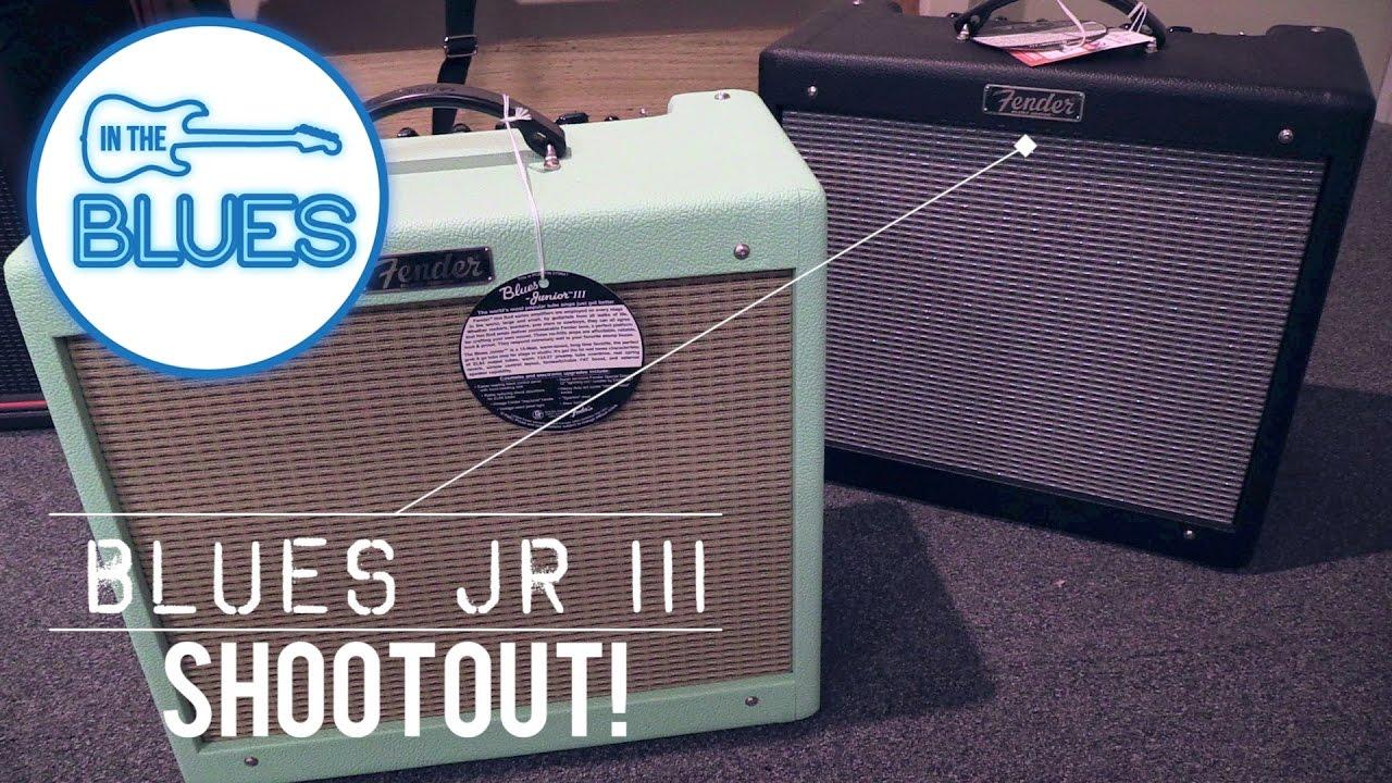 Fender Blues Jr III Surf Green vs Stock Fender Blues Jr III Amplifier