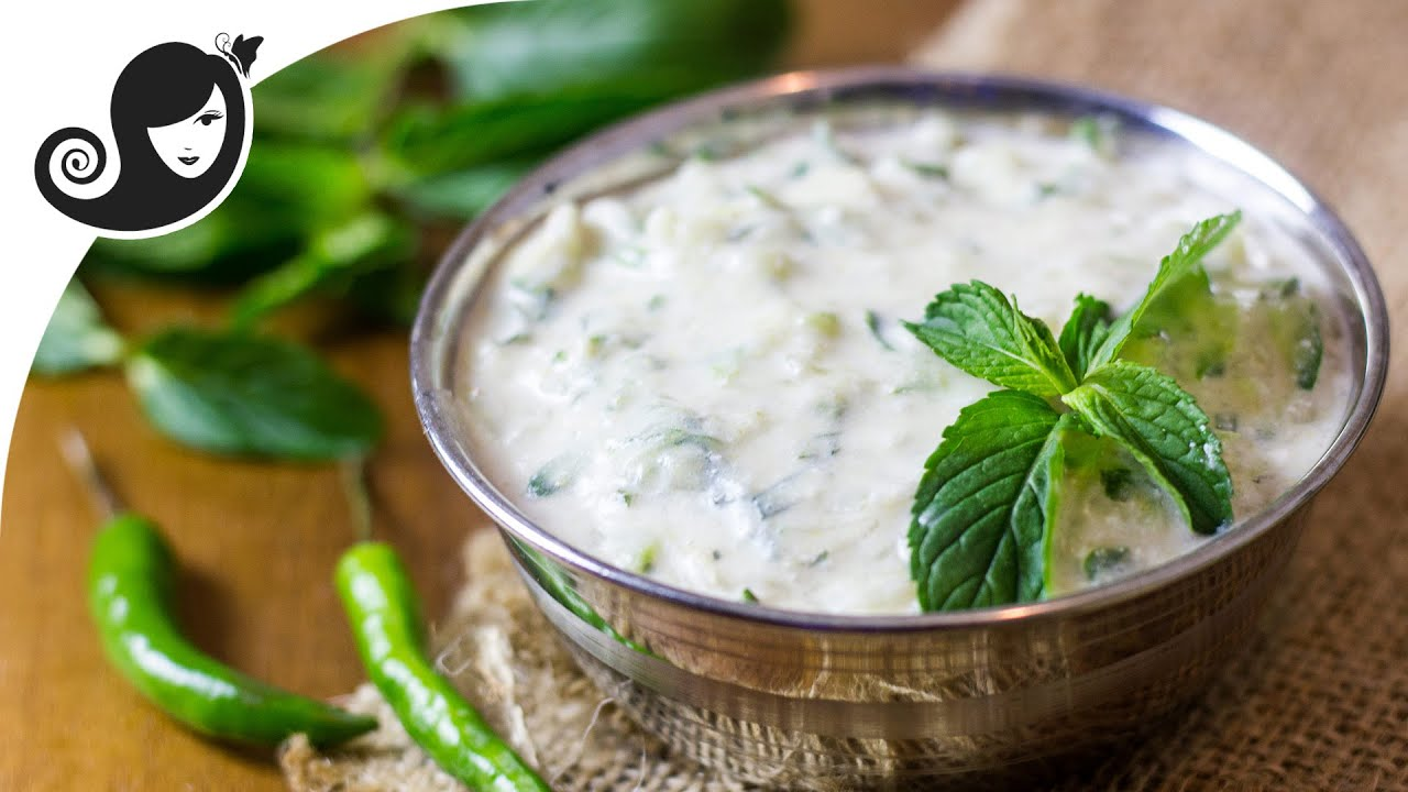 Cucumber Mint Raita - A Refreshing Dip or Cooling ...