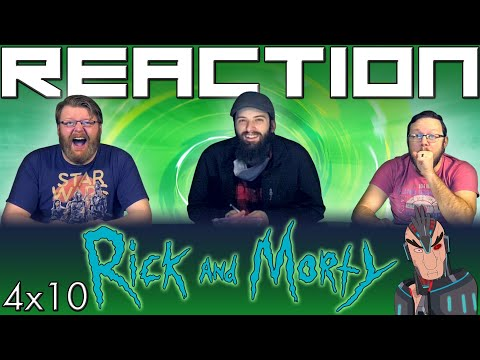 """Rick And Morty 4x10 FINALE REACTION!! """"Star Mort Rickturn Of The Jerri"""""""
