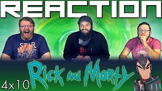"Rick and Morty 4x10 FINALE REACTION!! ""Star Mort Rickturn of the Jerri"""