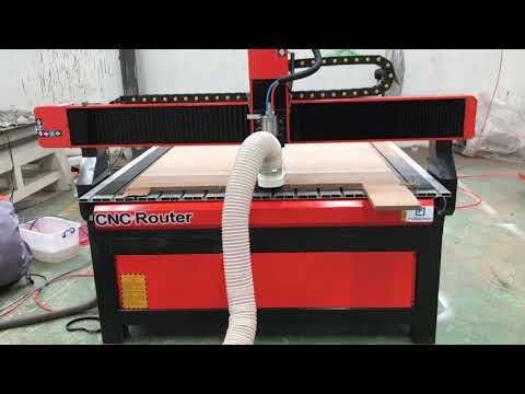 1224 wood cnc router with dust collector