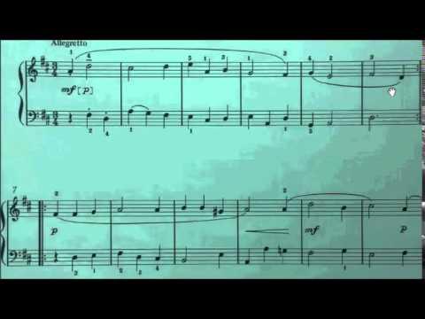 HKSMF 68th Piano 2016 Class 100 Grade 1 Lully Minuet (Music Through Time 1) Sheet Music 校際音樂節