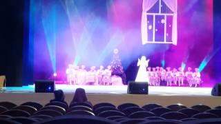 Песня Анастасии, съёмка новогодней тв передачи 2017