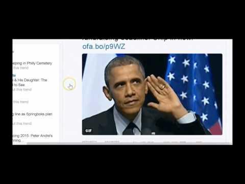 #Obama Tweet watch whats this??