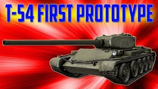 Pokaż co potrafisz #1410 ► T-54 first prototype - 7500 DMG