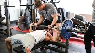Chest Workout by Steve Cook , Ryan Terry - Clash of the Covermodels
