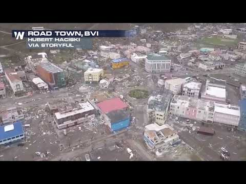 Hurricane Irma Causes Damage on British Virgin Islands