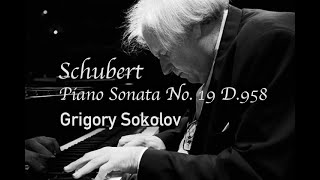 Schubert: Piano Sonata No. 19 …