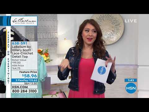 HSN | Hillary Scott Fashions . http://bit.ly/327kbRO