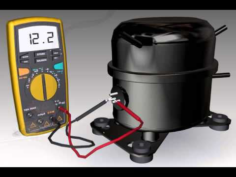 12v 14 pin relay wiring diagram testing a compressor youtube  testing a compressor youtube