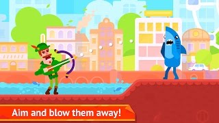 Video Bowmasters - Action - Miniclip Games 12+ Shoot Game -  Android Games download MP3, 3GP, MP4, WEBM, AVI, FLV Maret 2018