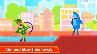 Video Bowmasters - Action - Miniclip Games 12+ Shoot Game -  Android Games download MP3, 3GP, MP4, WEBM, AVI, FLV Januari 2018