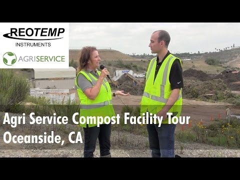 Agri Service Industrial Compost Facility Tour