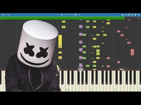 IMPOSSIBLE REMIX - Marshmello - Alone - Piano Cover