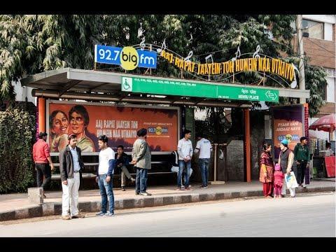 BigFM live radio show at Delhi bus shelter | JCDecaux India