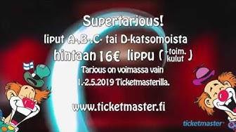 Lipputarjous Helsingin näytöksiin