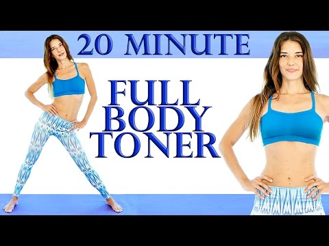 Full Body Tone & Stretch 20 Minute Workout – Ballet Inspired For Beginners At Home