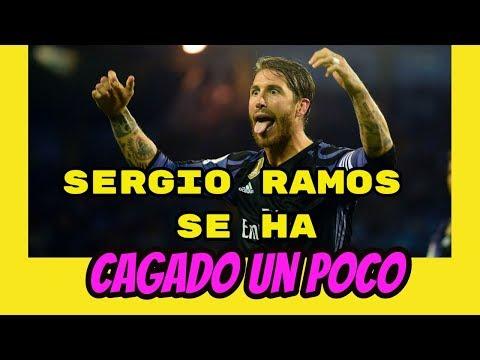 ▶️ Sergio Ramos. Se ha cagado un poco...