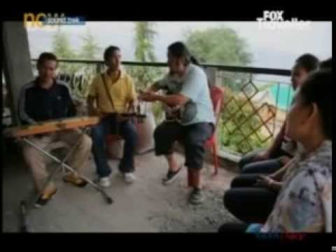 Our Tibetan Artists with Parikrama Band on Fox Traveler 2013