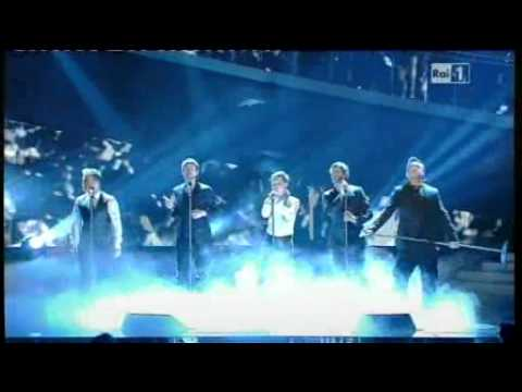 Sanremo 2011 - Take That e Robbie Williams - The flood