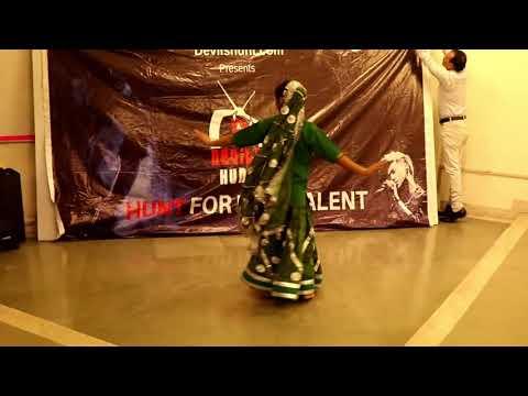 best dance performance by KIRANDEEP KAUR