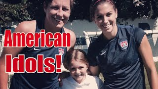 Training with Abby Wambach and Alex Morgan | Sam's 2014 Football Season Ep. 5 | Sam Gordon