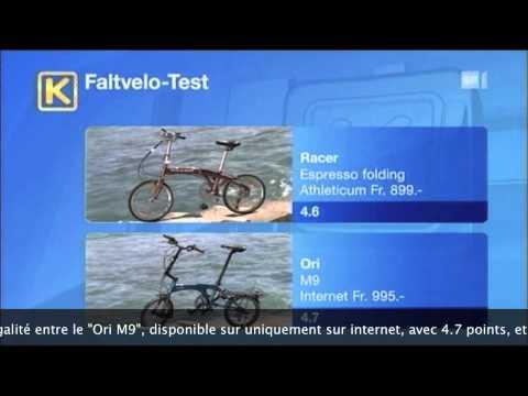 Faltrad-Test-Kassensturz