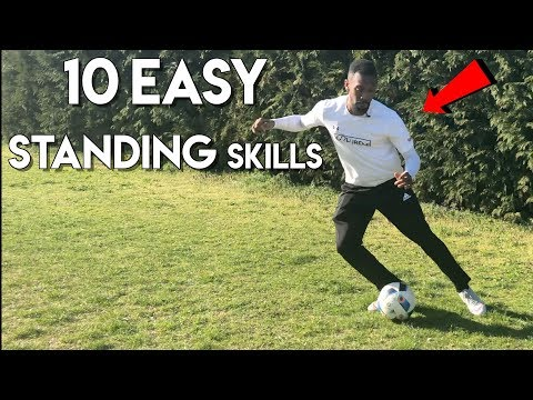TOP 10 SKILLS TO GET PAST DEFENDERS WHILE STANDING STILL