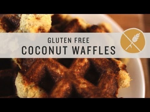 Superfoods - Gluten Free Coconut Waffles