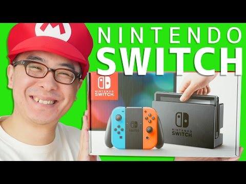 【速報】ついにキターーー!!!ニンテンドースイッチがやってきた! / Nintendo Switch