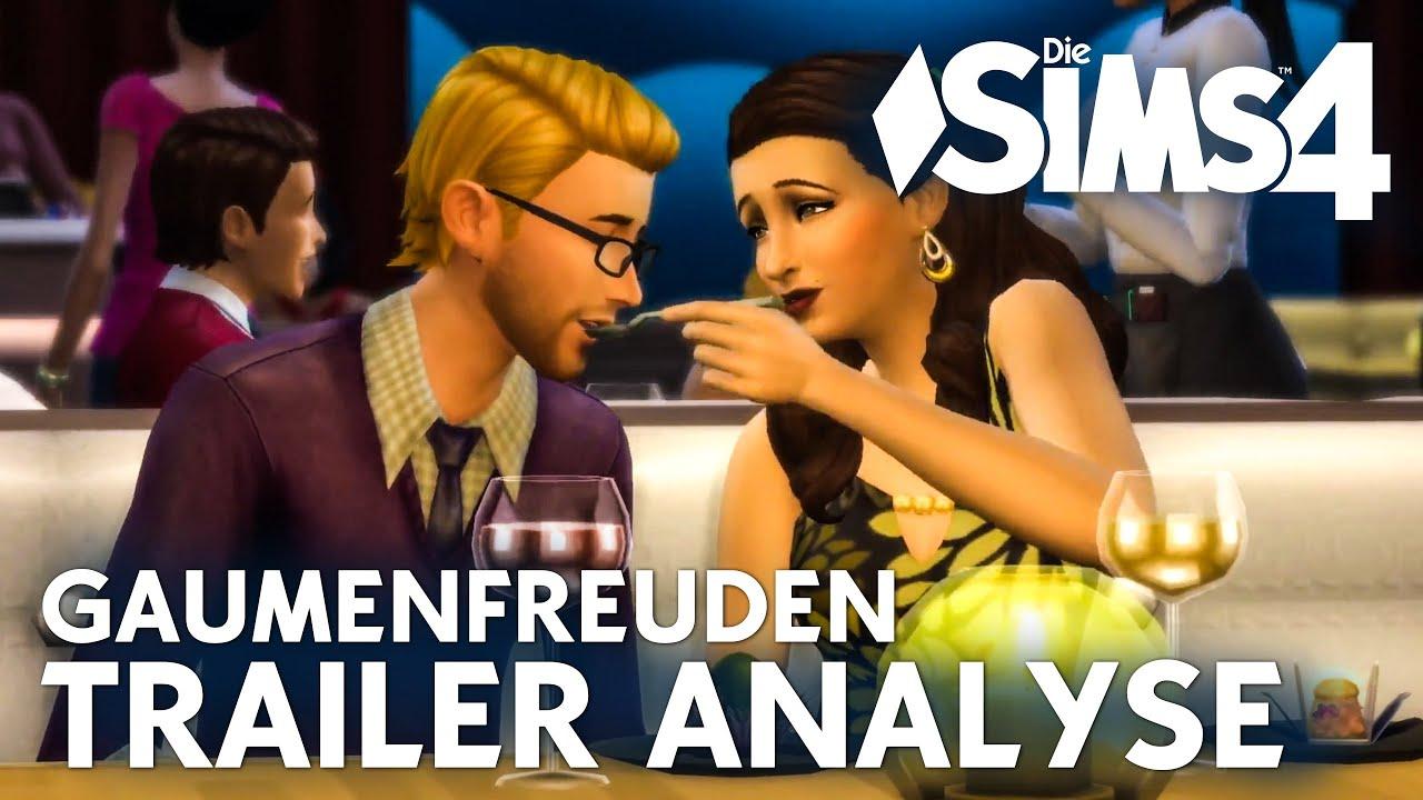 Die sims 4 restaurant gameplay pack trailer analyse gaumenfreuden