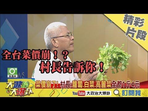 【精彩】適任的農業官員? 村長葉慶文:不要傻傻只聽上面指示