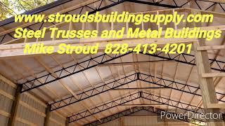 Steel Trusses and Metal Buildings